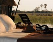 Private Room at Macatoo Camp in the Okavango Delta, African Horseback Safaris, Botswana