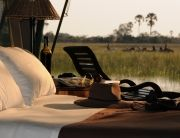 Private Room at Macatoo Camp in the Okavango Delta, African Horseback Safaris, Botswana