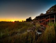 Shinde is an intimate, classic camp located on the edge of Shinde Lagoon, Botswana. Explore the Okavango Delta by Mokoro.