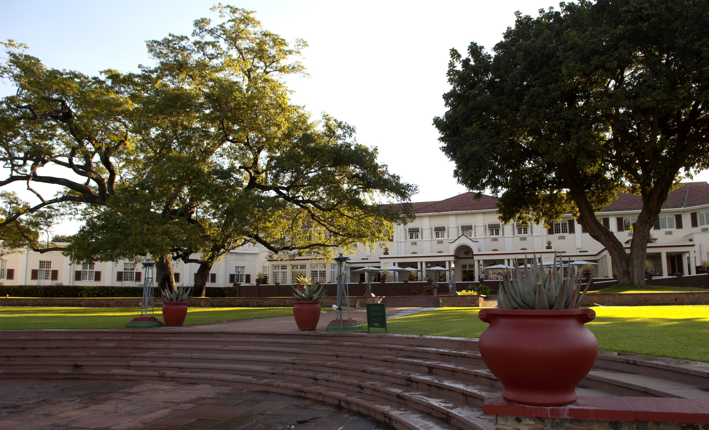 At The Victoria Falls Hotel, a colonial gem in Victoria Falls, celebrated its 100th Anniversary, Zimbabwe.