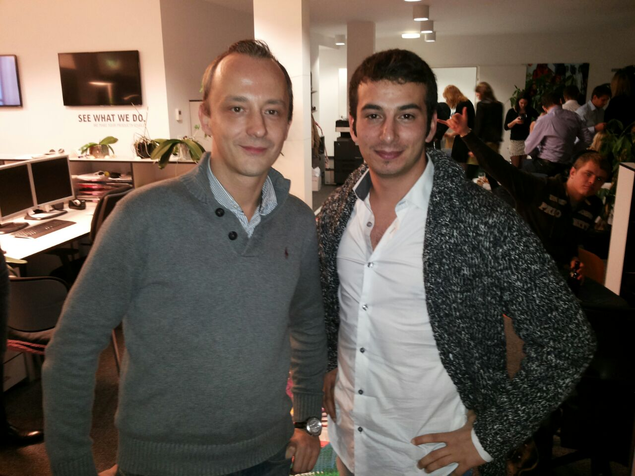 Partners, Aleks and Serkan, Homepage Design and Development