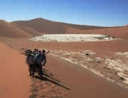 Namibia Sossusvlei Sand Dunes, Adventure Activities, Sand Boarding, Self Drive Safari.