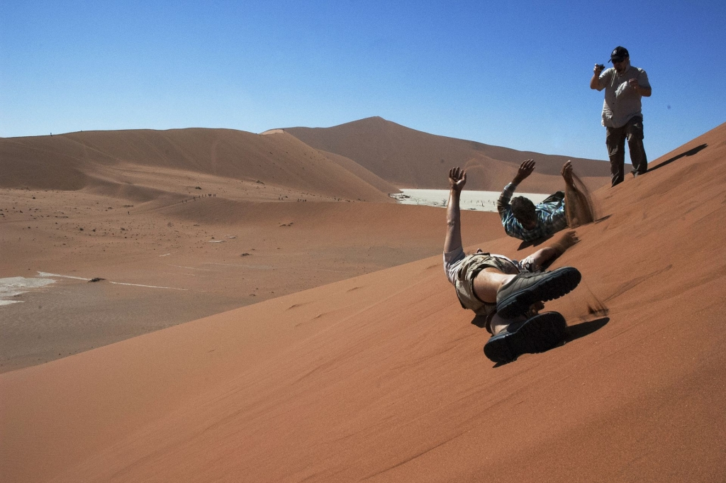 Namibia Sand boarding Sossusvlei Sand Dunes, Adventure Activities