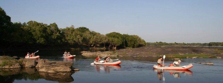 Get canoeing at Mawimbi!