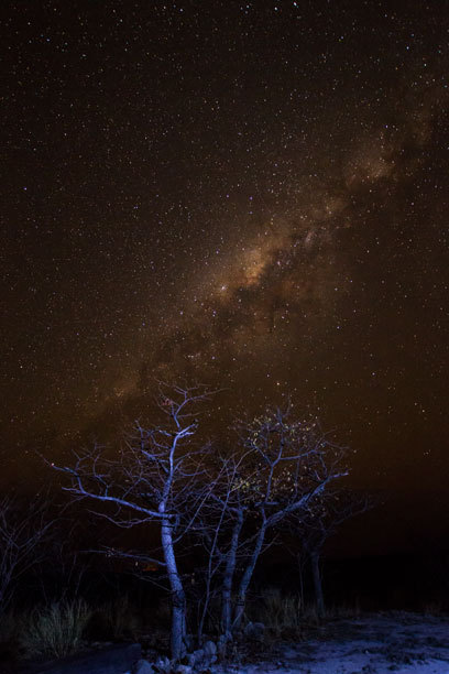 Namibischer Sternenhimmel mit unzähligen Sternen, Namibia, Eric Paul