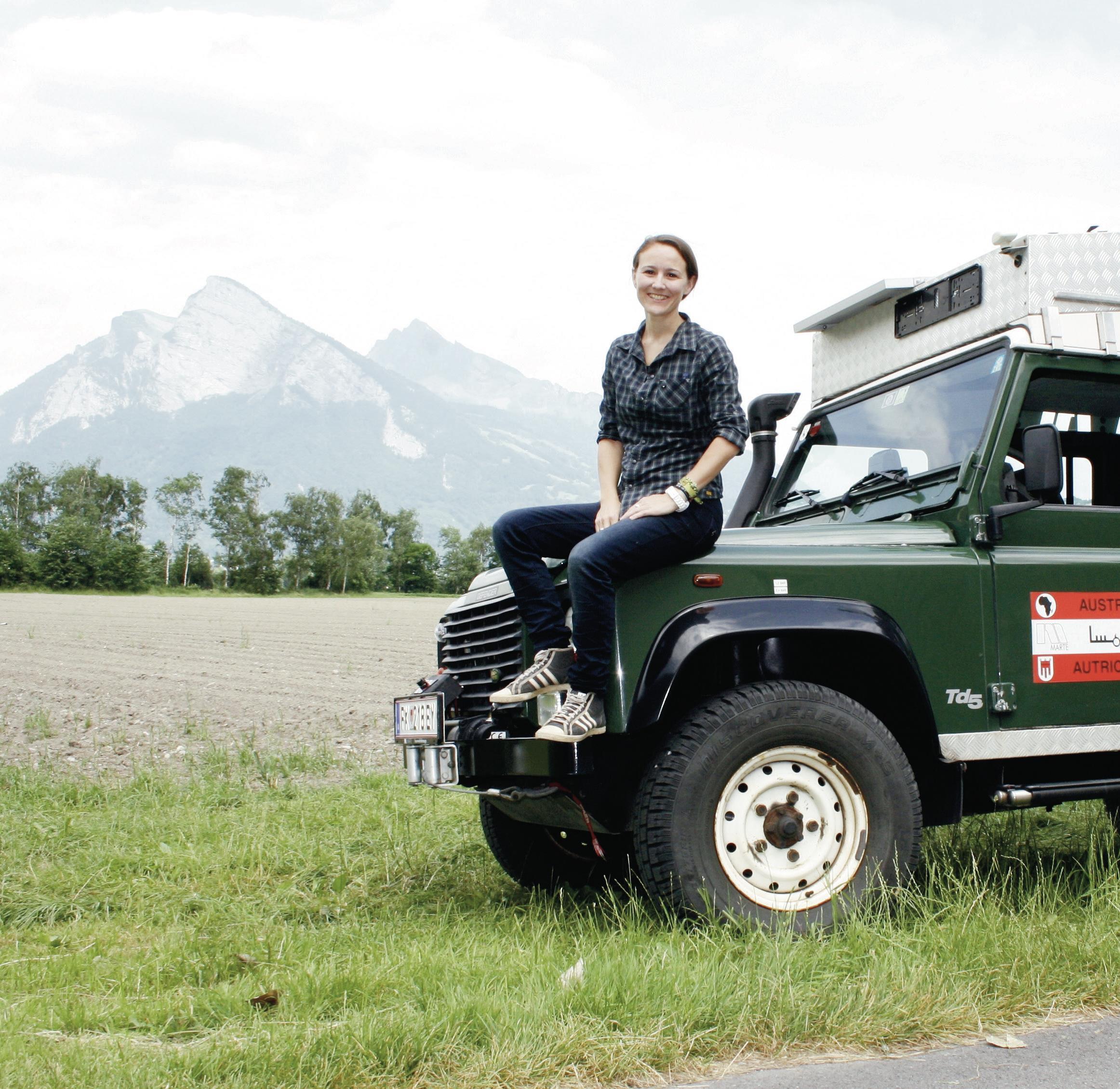 Sarganserländer Zeitungsartikel, Monika Peball-Korn Reiseexpertin von The Safari Source, Valens, Schweiz, Afrika, Simbabwe