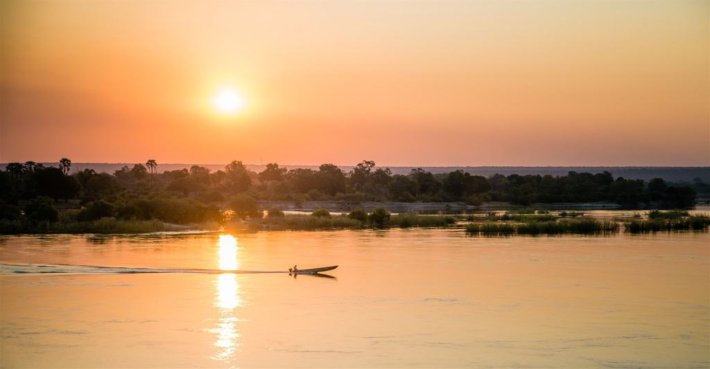 The River Club, Sunset Cruise on the Zambezi River with our River Club Special, Livingstone, Victoria Falls, Zambia