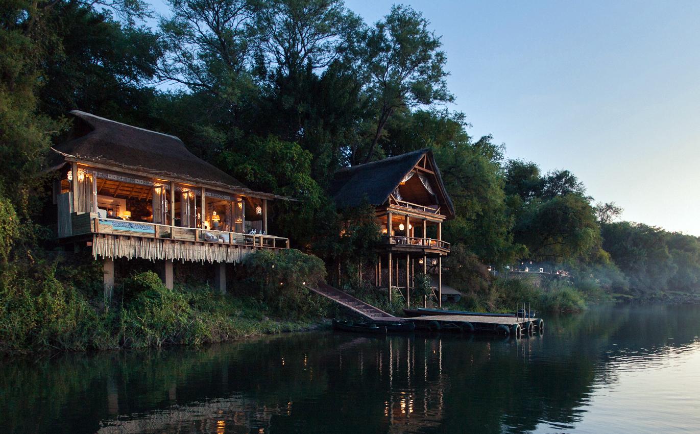 Tongabezi Lodge, Zambia.