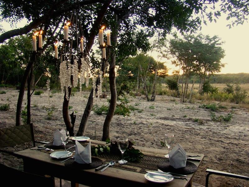 At Sable Sands Lodge enjoy delicious meals amidst wilderness in Hwange National Park.