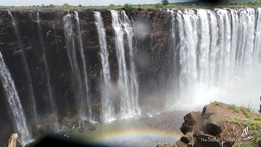Victoria Falls, Rainbow, Zimbabwe, Zambia, Gorge, Cliffs, Void