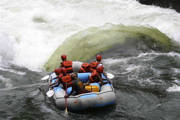 White Water Rafting in the mighty Zambezi River, Adventure Rafting, Rapids, River Rafting, Paddle, Boats