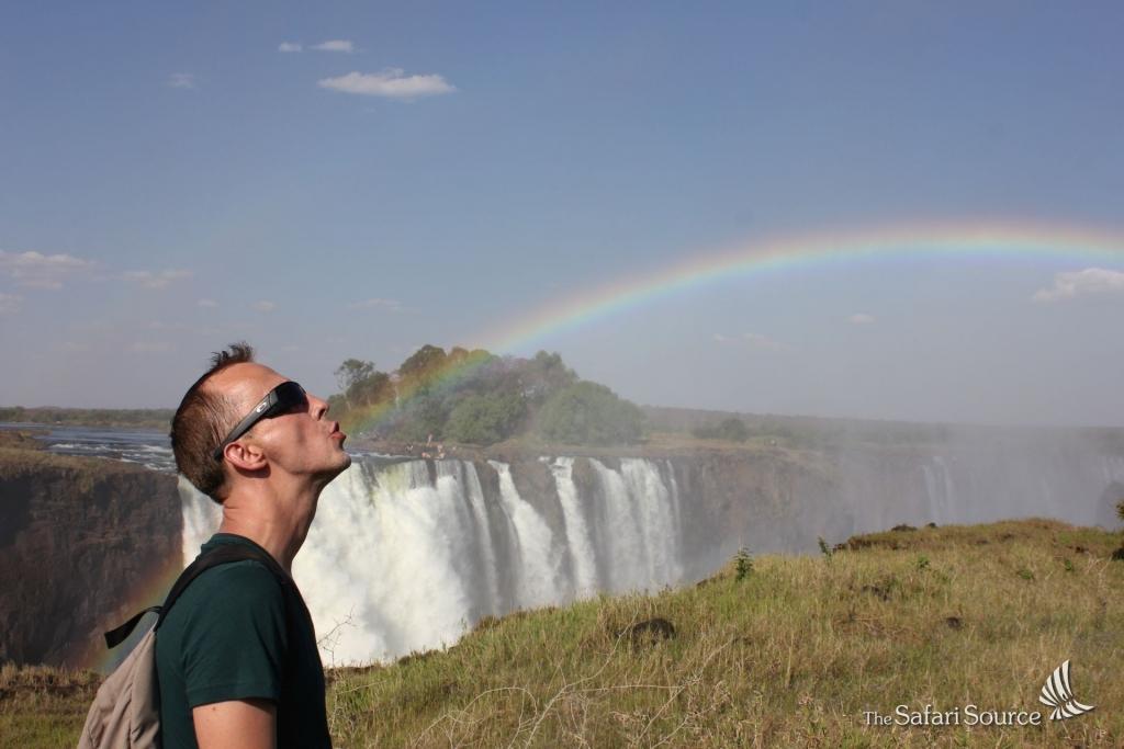 Victoria Falls, Rainbow, Zimbabwe, Zambia, UNESCO World Wonder