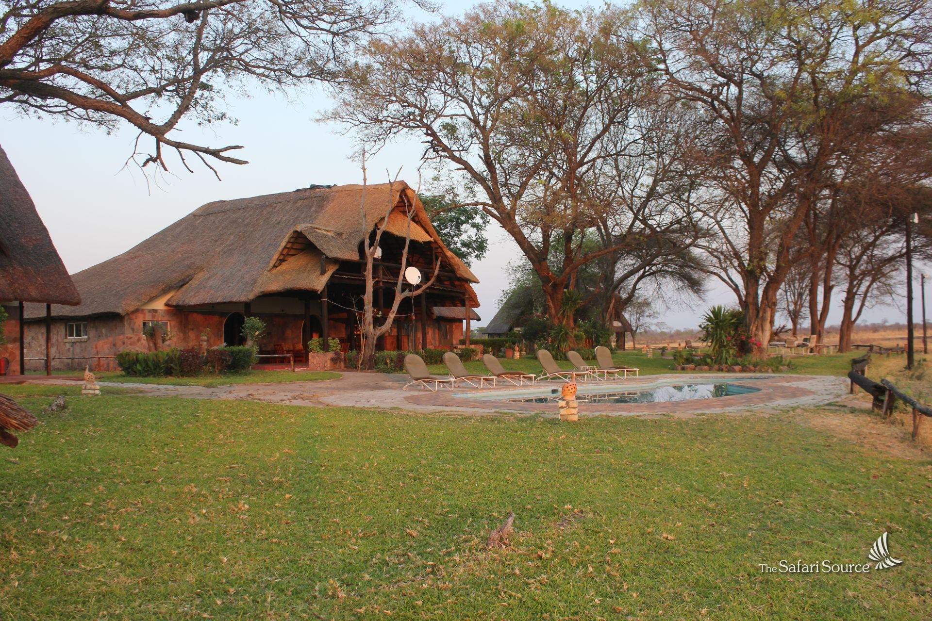 Ganda Lodge in Hwange National Park offers excellent accommodation, Zimbabwe
