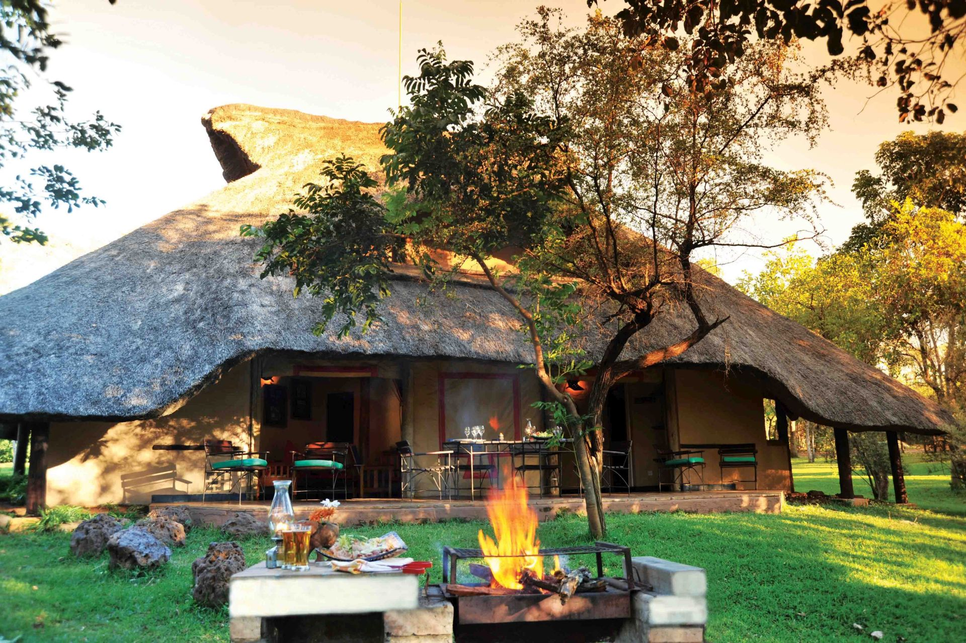Lokuthula Lodges in Victoria Falls offer the perfect accommodation for guests who want to self-cater during their stay in Zimbabwes adventure capital, Africa Albida.