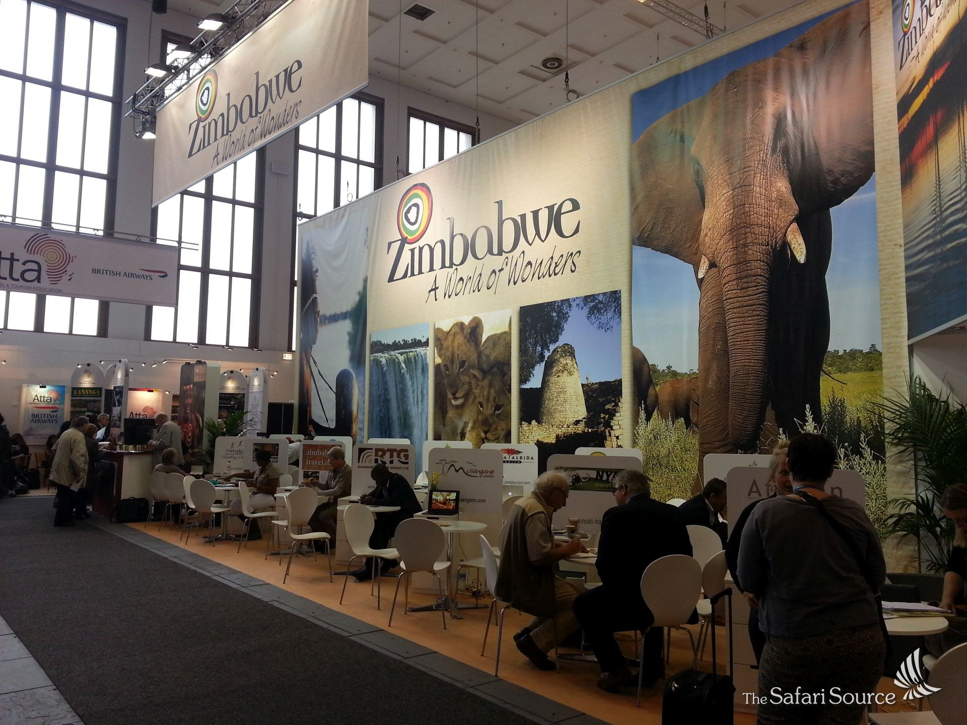Zimbabwe Stand at ITB Berlin 2016 in Europe, Travel Trade Show.