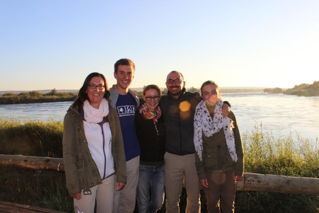 Our guests Asmussen enjoyed their stay at Zambezi Sands Camp in the Zambezi National Park, Victoria Falls, Zimbabwe.
