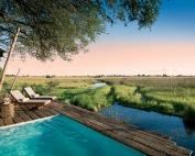Duba Plains, Okavango Delta, Botswana. Pool. © Great Plains Conservation