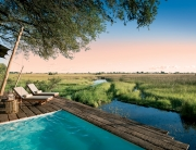 Duba Plains, Okavango Delta, Botswana. Pool. © Great Plains Conservation