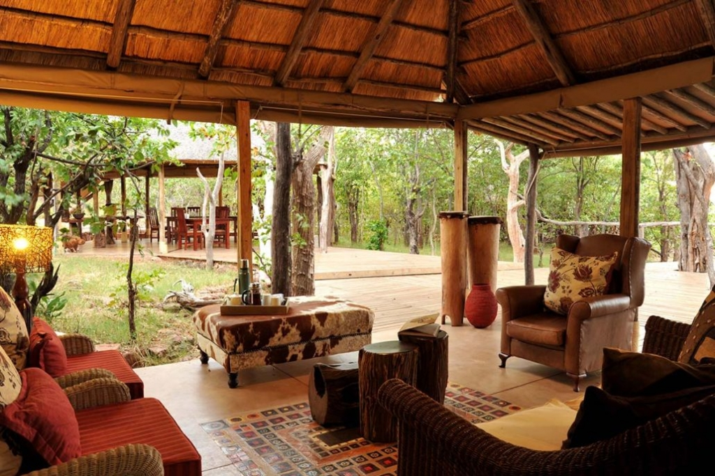 Changa safari camp - main lounge. ©Changa safari camp