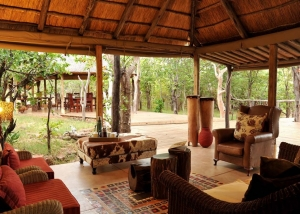 Changa safari camp - main lounge. ©Changa safari camp