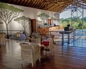 Chobe Bush Lodge lounge ©Chobe Bush Lodge