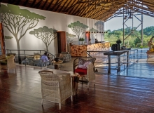 Chobe Bush Lodge lounge ©Chobe Bush Lodge