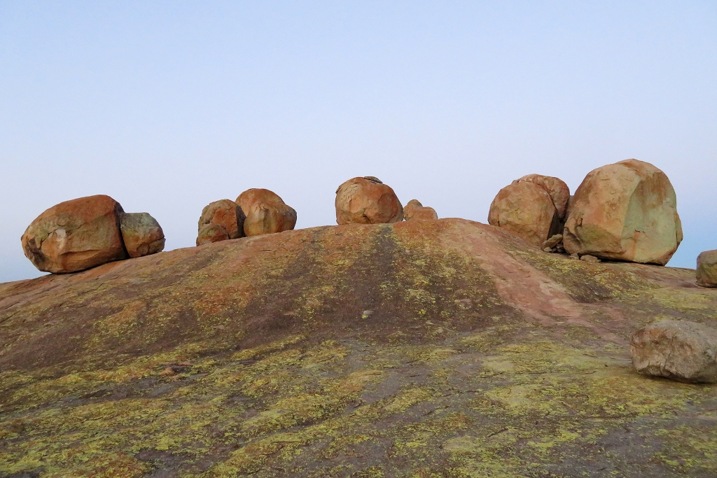 Rock formations in Matopos National Park, Zimbabwe.