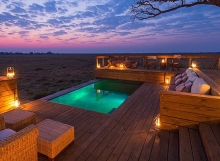 Shumba Camp - pool ©Wilderness Safaris
