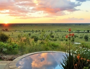 Ngoma - private pool by and view.
