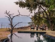 Changa safari Camp - deck