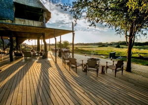 Deck at The Hide